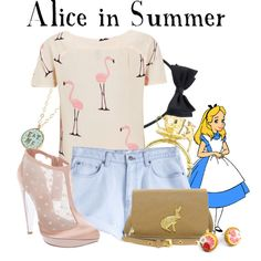 Alice in Summer, created by agust20 on Polyvore