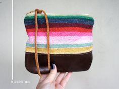 Mexican / Bolivian serape purse
