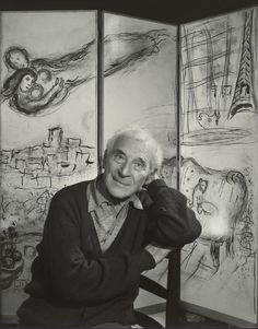 Yousuf Karsh, Portrait of Marc Chagall, 1965