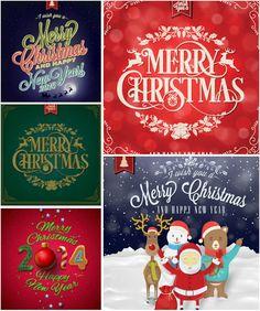 Embellished Christmas backgrounds vector. Free downloads.