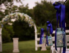 Colbalt Blue Wedding with a Country Twist | Historic Cedarwood | All Inclusive Designer Weddings