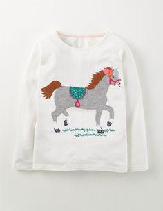 Ecru Autumn Fun T-shirt Boden