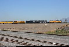 RailPictures.Net Photo: UP 4014, X-4014, UP 4884 Union Pacific Steam 4-8-8-4 at Bloomington, California by Kevin Berdrow
