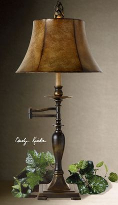 Uttermost Romina Swing Arm Table Lamp