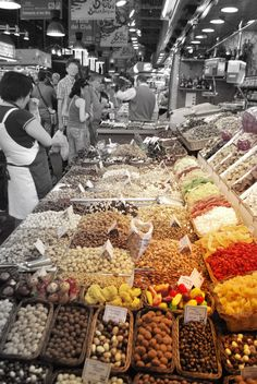 El mercado, in Barcelona Jrr Tolkien, Barcelona, Spaces, Barcelona Spain