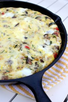 a hint of honey: Roasted Vegetable Frittata