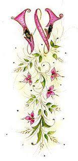 Ink Flourishes: Wintergreen