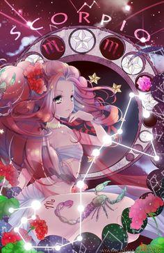Kết quả hình ảnh cho 12 cung hoàng đạo anime Bảo Bình, Cung Hoàng �ạo