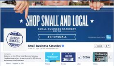 The Facebook Page for Shop Small Business Saturday