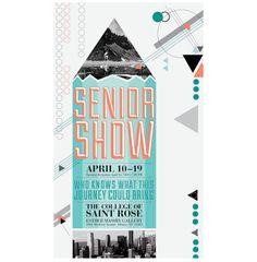 Senior Show Poster - www.memoliward.com