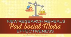 Do you know where to spend your social media marketing dollars? Discover recent insights on the effectiveness of paid social media marketing.