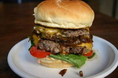 Super Bowl Recipe Challenge: Double Cheese & Onions Burger vs. Bacon Cheddar Cheeseburger