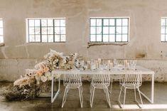 Boho Wedding Inspiration with an Abundance of White + Cream Textured Florals - Green Wedding Shoes