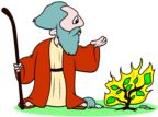 Moses and the Burning Bush - Children's Sermons from Sermons4Kids.com