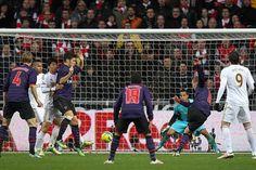 Lukas Podolski... goal vs Swansea City