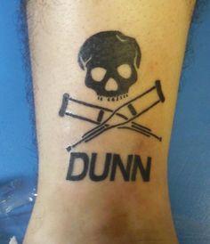 jackass tattoo tribute ryan dunn