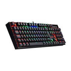 Top Tastatur zum kleinen Preis  Games, PC, Zubehör, Gaming-Tastaturen Rgb Led, Computer Keyboard, Music Instruments, Computer Keypad, Musical Instruments, Keyboard