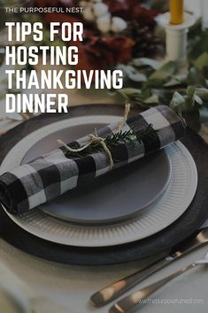 Tips For Hosting Thanksgiving for the First Time
