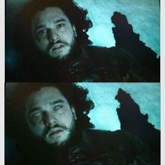 Kit as Jon Snow on Game of Thrones Season5 Episode10