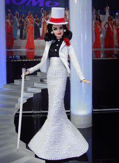 OOAK Barbie NiniMomo's Miss Atlantic City 2011