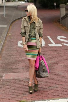 this skirt looks like a shorter version of the   spring 2012 j.crew collection skirt!