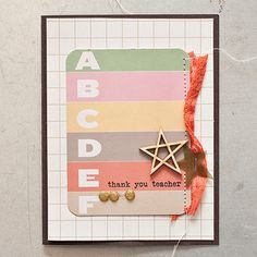Teacher Card >> Maggie Holmes Studio Calico Oct Kits by maggie holmes at @Studio_Calico