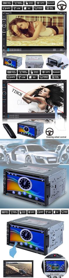 Video In-Dash Units w GPS: 7 Hd Double 2 Din Car Cd Dvd Player Gps Navigation Bluetooth Touch Stereo Radio -> BUY IT NOW ONLY: $122.68 on eBay!