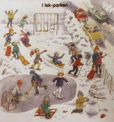 Jag valde att sätta upp orden, i en ordlista, på Preschool Christmas, Simon Says, Vintage World Maps, Ipad, Painting, Creative, Painting Art, Paintings, Painted Canvas