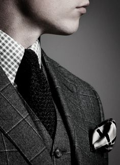 A gentleman always has a way with patterns.  meandmybentley.tumblr.com   The omg factor! ~js