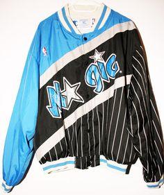 Champion NBA Basketball Orlando Magic Warm Up Jacke Size 48 - Größe XL -  249 886c494de
