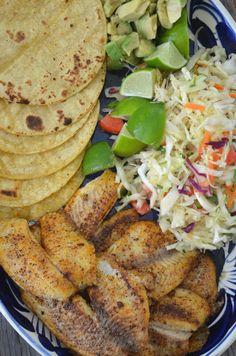 The Lazy Daisy Kitchen - Fish Tacos