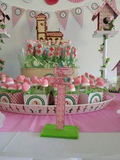 Mesa de chuches o candy bar