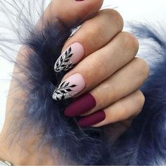 Looking for easy nail art ideas for short nails? Look no further here are are quick and easy nail art ideas for short nails. Cute Nail Designs, Acrylic Nail Designs, Stylish Nails, Classy Nails, Simple Nails, Gorgeous Nails, Pretty Nails, Nagel Hacks, Burgundy Nails