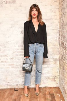 Who said jeans can't be chic has clearly never heard of Jeanne Damas