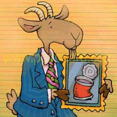 Goat Bart Simpson, Goats, Disney Characters, Fictional Characters, Profile, Illustration, Projects, Pictures, Comics