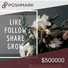 FULL! Follow all who have liked! I have made it to Posh Ambassador!! 🤗 Like this post. Follow me. Share this post. Follow everyone that likes this post. Increase your followers. Increase your sales. Increase your posh finds. Increase your closet.  Follow game. Makeup Lipstick