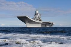Indian Navy carrier INS Vikramaditya - photo Indian Navy