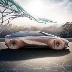 BMW presenta de forma cambiante concepto de coche con equipos que pueden predecir cada uno de sus movimientos