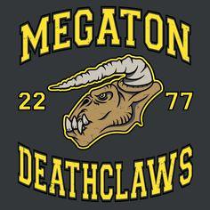 #fallout #deathclaw #tshirt