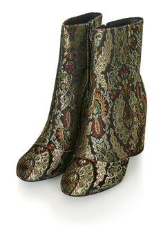 b1c159ef6aa Love these Jacquard ankle boots. Business Casual