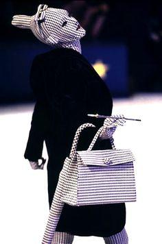 hautekills: Jean Paul Gaultier f/w 1991 - polka dot body