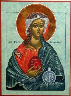 Icono de María Magdalena