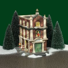 "Department 56: Products - ""Customs House, Queens Port"" - View Lighted Buildings"