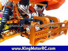 Aluminum Rear Bumper (orange)