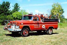 Thronwood, NY FD - 1966 Chevrolet Sanford 4x4 Brush Truck.