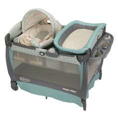 Pack n Play w Cuddle Cove Rocking Seat 365389300 | Baby Play Yards | Activity | Shop Online For | BABY | Burlington Coat Factory