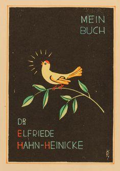 M Parizek for Elfriede Hahn- Heinicke