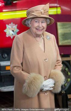 Queen Elizabeth, February 3, 2015 in Philip Somerville | Royal Hats