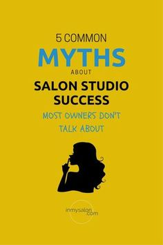 Let's go ahead and talk through the 5 common myth's about salon studio success and then we will talk about the salon ideas that are killing you. #salonideas #salondecor #salonsuite