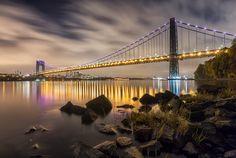 The George Washington Bridge, NYC by Mike Orso on 500px